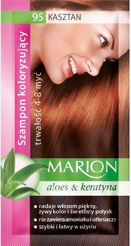 Marion Szampon koloryzujący 4-8 myć nr 95 kasztan 40 ml 1