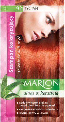 Marion Szampon koloryzujący 4-8 myć nr 92 tycjan 40 ml 1