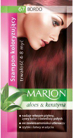 Marion Szampon koloryzujący 4-8 myć nr 67 bordo 40 ml 1