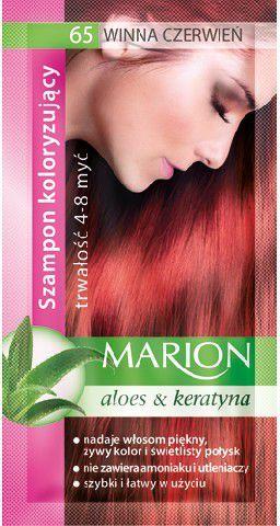 Marion Szampon koloryzujący 4-8 myć nr 65 winna czerwień 40 ml 1