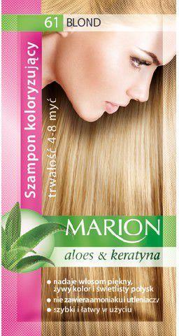 Marion Szampon koloryzujący 4-8 myć nr 61 blond 40 ml 1