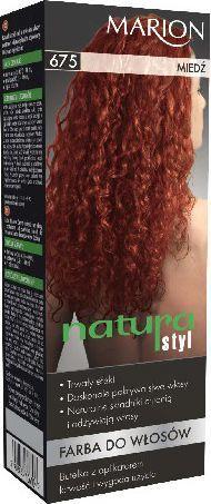 Marion Farba do włosów Natura Styl nr 675 miedź - 78675 1