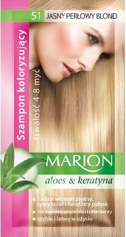 Marion Szampon koloryzujący 4-8 myć nr 51 jasny perłowy blond 40 ml 1