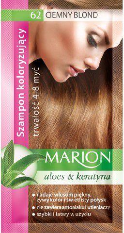 Marion Szampon koloryzujący 4-8 myć nr 62 ciemny blond 40 ml 1
