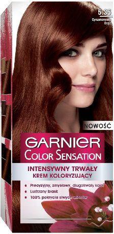 Garnier Color Sensation Krem koloryzujący 5.35 Cynamonowy Brąz 1