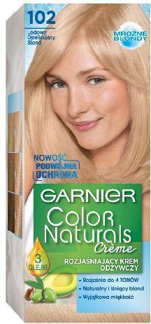 Garnier Color Naturals Krem koloryzujący nr 102 Lodowy Opalizujący Blond 1