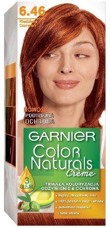Garnier Color Naturals Krem koloryzujący nr 6.46 Miedziana Czerwień 1