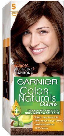 Garnier Color Naturals Krem koloryzujący nr 5 Jasny Brąz 1