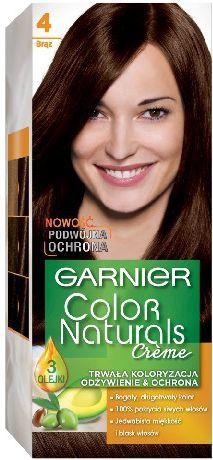Garnier Color Naturals nr 4 Brąz 1op - (0305392) 1