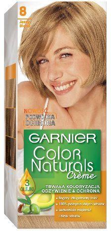 Garnier Color Naturals Krem koloryzujący nr 8 Jasny Blond 1