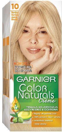Garnier Color Naturals Krem koloryzujący nr 10 Bardzo Bardzo Jasny Blond 1