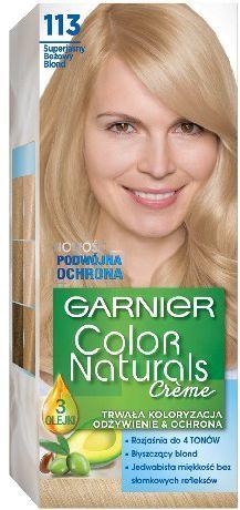 Garnier Color Naturals Krem koloryzujący nr 113 Superjasny Beżowy Blond 1