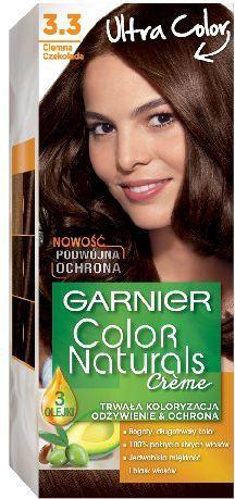 Garnier Color Naturals Krem koloryzujący nr 3.3 Ciemna Czekolada 1