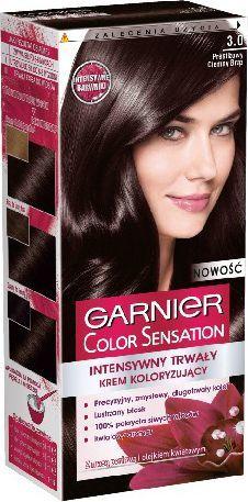 Garnier Color Sensation Krem koloryzujący 3.0 Prestig Brown- Prestiżowy ciemny brąz 1
