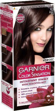 Garnier Color Sensation Krem koloryzujący 4.0 Deep Brown- Głęboki brąz 1