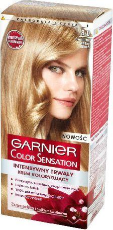 Garnier Color Sensation Krem koloryzujący 8.0 Light Blond- Świetlisty jasny blond 1