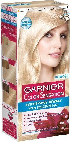 Garnier Color Sensation Krem koloryzujący 110 Diamond U.Blond-Diamentowy super jasny blond 1