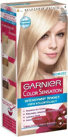 Garnier Color Sensation Krem koloryzujący 113 Beige U.Blond- Jedwabisty beżowy superjasny blond 1