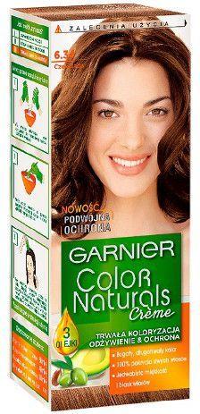 Garnier Color Naturals Krem koloryzujący nr 6.34 Czekolada 1