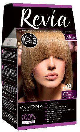 Verona Farba do włosów nr 03 ZŁOCISTY BLOND 50 ml 1