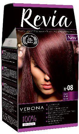 Verona Farba do włosów nr 08 WIŚNIA 50 ml 1