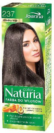 Joanna Naturia Color Farba do włosów nr 237-chłodny brąz 150 g 1