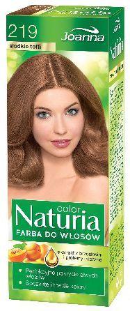 Joanna Naturia Color Farba do włosów nr 219-słodkie toffi 150 g 1