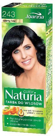 Joanna Naturia Color Farba do włosów nr 243-czarny bez 150 g 1