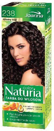 Joanna Naturia Color Farba do włosów nr 238-mroźny brąz 150 g 1