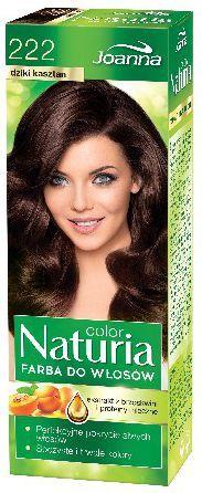 Joanna Naturia Color Farba do włosów nr 222-dziki kasztan 150 g 1