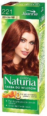 Joanna Naturia Color Farba do włosów nr 221-jesienny liść 150 g 1