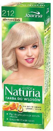 Joanna Naturia Color Farba do włosów nr 212-szlachetna perła 150 g 1