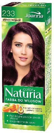 Joanna Naturia Color Farba do włosów nr 233-głęboki burgund 150 g 1