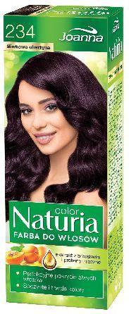 Joanna Naturia Color Farba do włosów nr 234-śliwkowa oberżyna 150 g 1