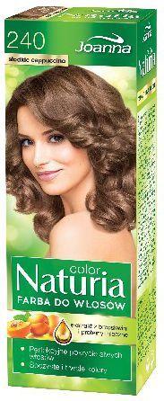 Joanna Naturia Color Farba do włosów nr 240-słodkie cappucino 150 g 1
