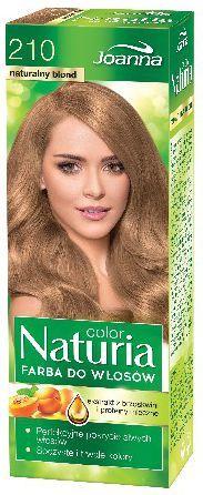 Joanna Naturia Color Farba do włosów nr 210-naturalny blond 150 g 1