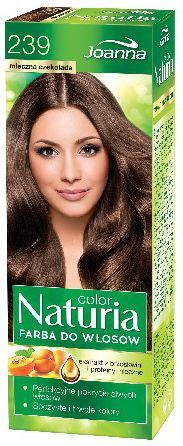 Joanna Naturia Color Farba do włosów nr 239-mleczna czekolada 150 g 1