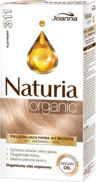 Joanna Naturia Organic Farba nr 311 platynowy (525451) 1