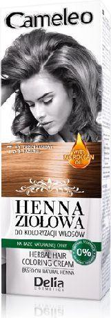 Delia Cosmetics Cameleo Henna Ziołowa nr 7.3 orzech laskowy 75 g 1