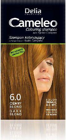 Delia Cosmetics Cameleo Szampon koloryzujący 6.0 ciemny blond 1