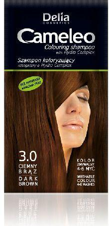 Delia Cosmetics Cameleo Szampon koloryzujący 3.0 ciemny brąz 1