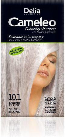 Delia Szampon do farbowania włosów Cameleo 10.1 srebrny blond 1