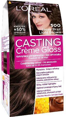 Casting Creme Gloss Krem koloryzujący nr 500 Jasny Brąz 1
