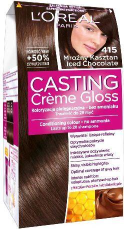 Casting Creme Gloss Krem koloryzujący nr 415 Mroźny Kasztan 1