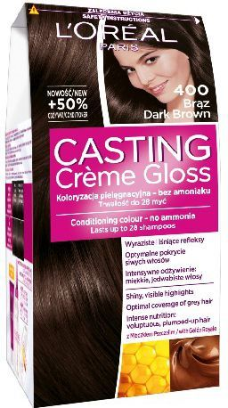 Casting Creme Gloss Krem koloryzujący nr 400 Brąz 1