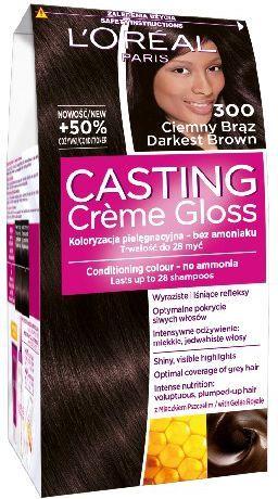 Casting Creme Gloss Krem koloryzujący nr 300 Ciemny Brąz 1