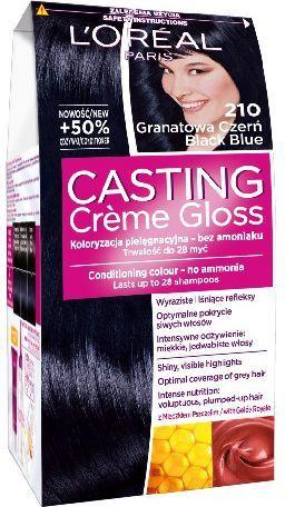 Casting Creme Gloss Krem koloryzujący nr 210 Granatowa Czerń 1