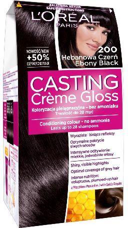 Casting Creme Gloss Krem koloryzujący nr 200 Hebanowa Czerń 1