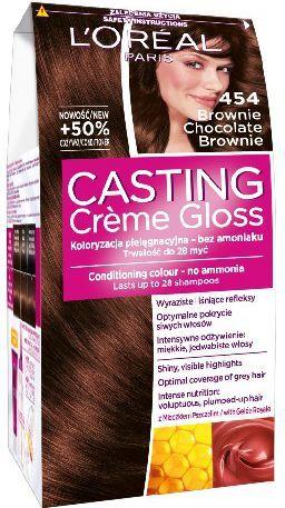 Casting Creme Gloss Krem koloryzujący nr 454 Czekoladowy Brąz 1