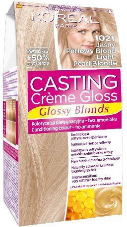 Casting Creme Gloss Krem koloryzujący nr 1021 Jasny Perłowy Blond 1